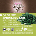 Spirulina Tablets (Taiwan) 180g Certified Organic - label front