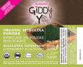 SPIRULINA POWDER (TAIWAN) 1kg BULK Certified Organic- FRONT LABEL