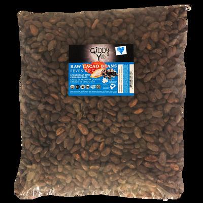 Giddy Yo  BEANS, RAW (Ecuador), BULK 5 KG, Certified Organic