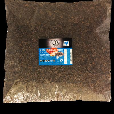 CACAO NIBS, RAW (Ecuador), BULK 5 KG, Certified Organic