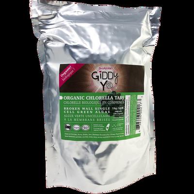 CHLORELLA TABS (Taiwan) Broken Cell Wall 1 kg BULK Certified Organic