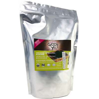 SPIRULINA POWDER (TAIWAN) 1kg BULK Certified Organic