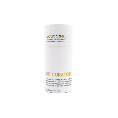Curator - Baking Soda Free Natural Deodorant STICK by Routine 50 g