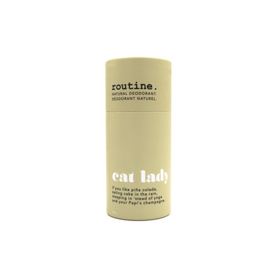 Cat Lady  - Natural Deodorant STICK by Routine 50 g