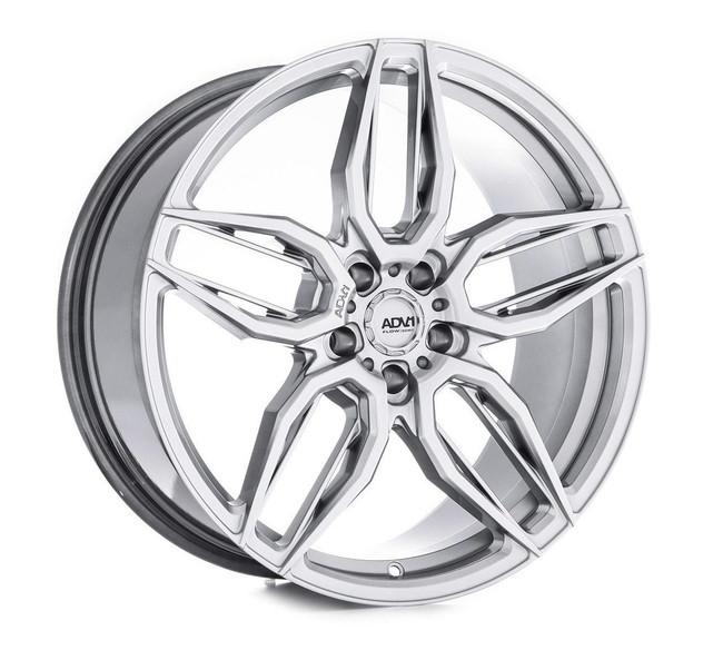 ADV.1 ADV005 Flow Spec Hyper Platinum Black FlowForm Deep Concave Wheel 2013-2020 Tesla Model S 20x10.5 +38 5x120BC 7.3BS - V20100521P38