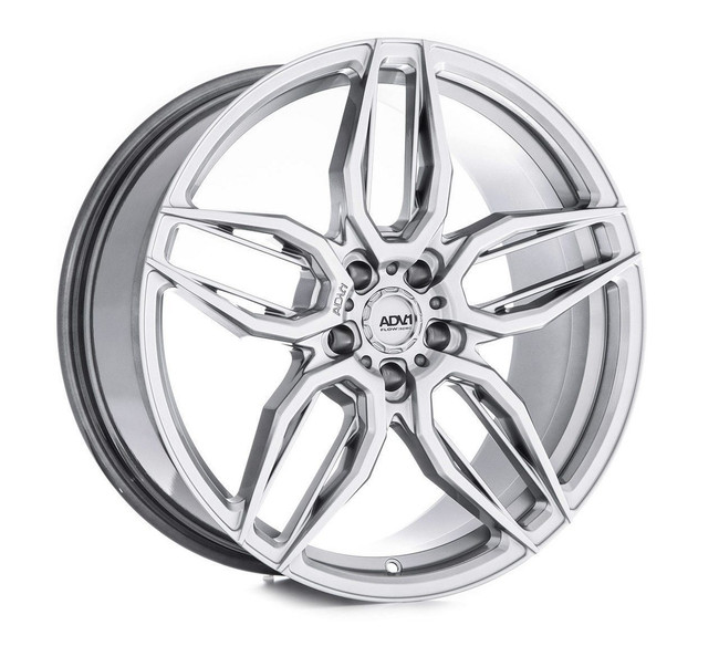ADV.1 ADV005 Flow Spec Hyper Platinum Black FlowForm Deep Concave Wheel BMW 5-Series G30 2017-2020 20x10.5 +32 5x112BC 7.0BS - V20100544P32