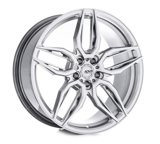 ADV.1 ADV005 Flow Spec Hyper Platinum Black FlowForm Deep Concave Wheel Porsche Macan (Type 95B) BMW M5 F90 2017-2020 20x10.5 +22 5x112BC 6.6BS - V20100544P22