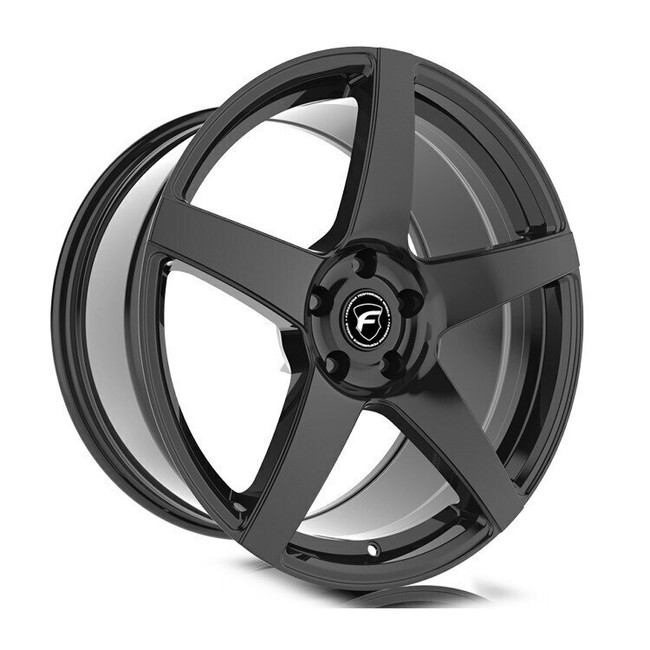 Forgestar CF5 Gloss Black Concave Classic Wheel 19x9 +35 5x120BC 6.4BS - F11199021P35