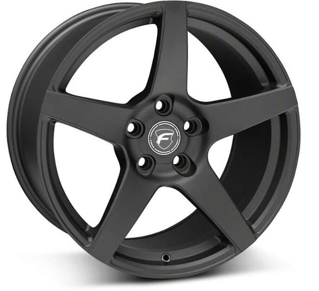 Forgestar CF5 Satin Black Concave Classic Wheel 20x9 +35 5x120BC 6.4BS - F11209021P35