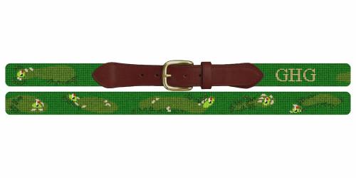 Pasatiempo Golf Club Needlepoint Belt