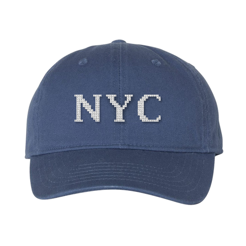 Custom Monogram Needlepoint Hat
