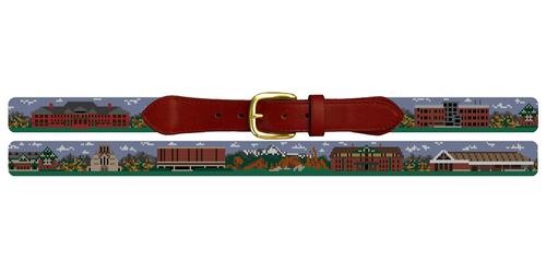 Colorado College Needlepoint Belt