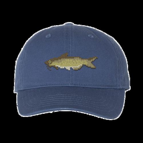 Catfish Needlepoint Hat