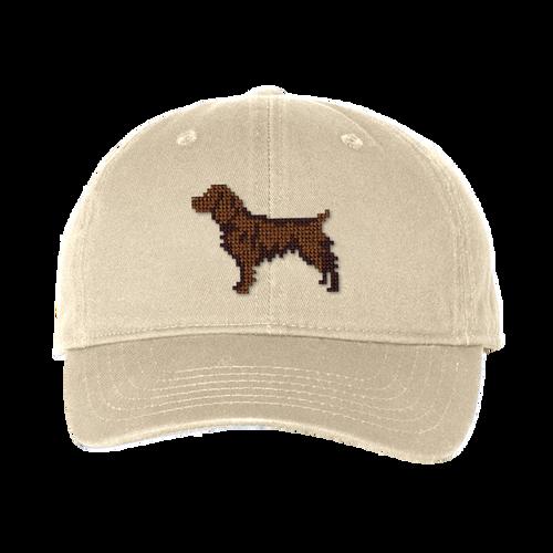 Boykin Spaniel Needlepoint Hat