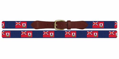Bermuda Flag Needlepoint Belt