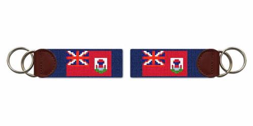 Bermuda Flag Needlepoint Key Fob