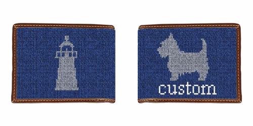 Custom Needlepoint Wallet