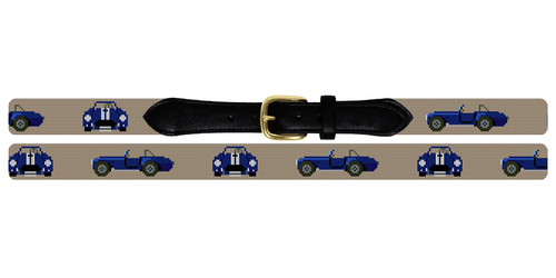 Shelby Cobra Needlepoint Belt