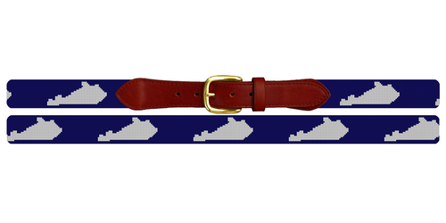 Kentucky State Needlepoint Belt