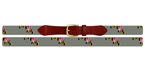 Maryland State Needlepoint Belt