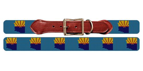 Arizona State Needlepoint Dog Collar
