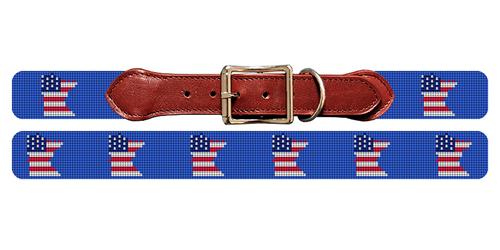 Minnesota State Needlepoint Dog Collar