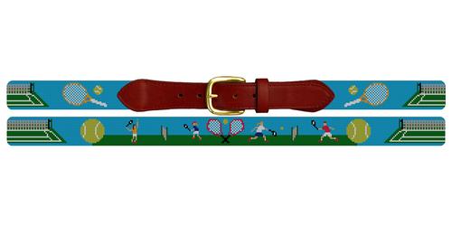 Tennis Needlepoint Belt