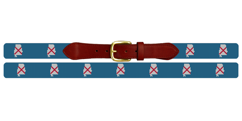 Alabama State Needlepoint Belt