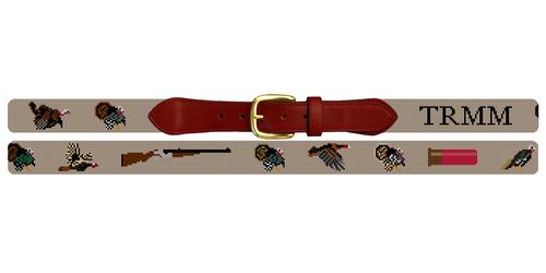 Grand Slam Turkey Needlepoint Belt