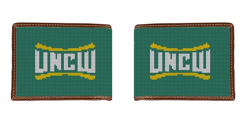 University of North Carolina Wilmington Needlepoint Wallet
