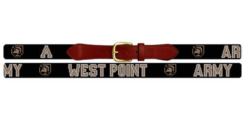 West Point United States Military Academy Needlepoint Belt