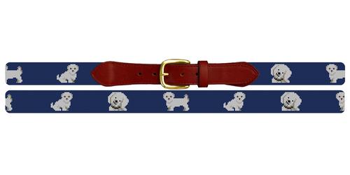 Maltese Needlepoint Belt