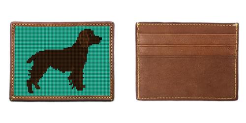 Boykin Spaniel Needlepoint Card Wallet