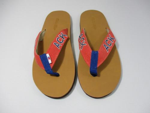 Nantucket ACK Flip Flops - Clearance