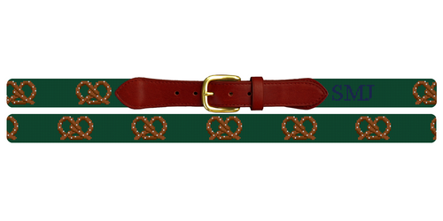 Perfect Pretzel Needlepoint Belt