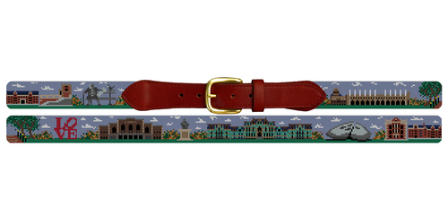 University of Pennsylvania Needlepoint Belt