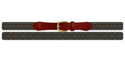 Gaea Needlepoint Belt