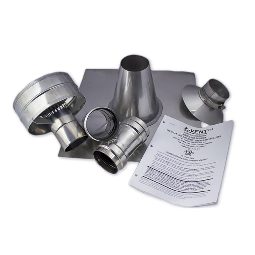 Eccotemp i12 Indoor 4.0 GPM Liquid Propane Tankless Water Heater Vertical Kit