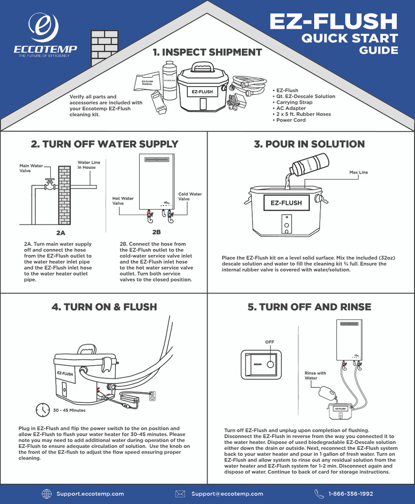 EZ-Flush | Quick Start Guide
