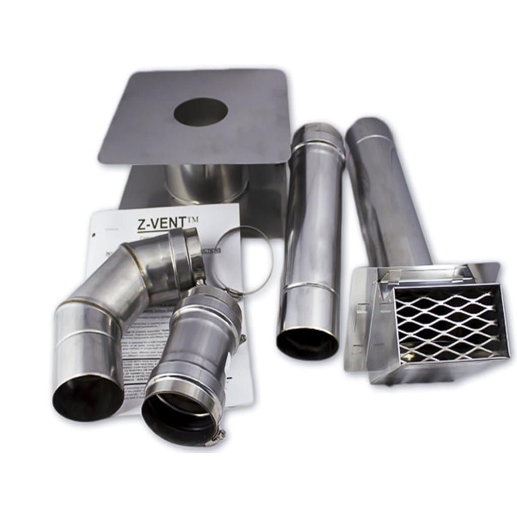 Eccotemp i12 Indoor 4.0 GPM Liquid Propane Tankless Water Heater Horizontal Kit