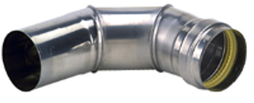 "4"" - 90 Degree Stainless Steel Elbow"