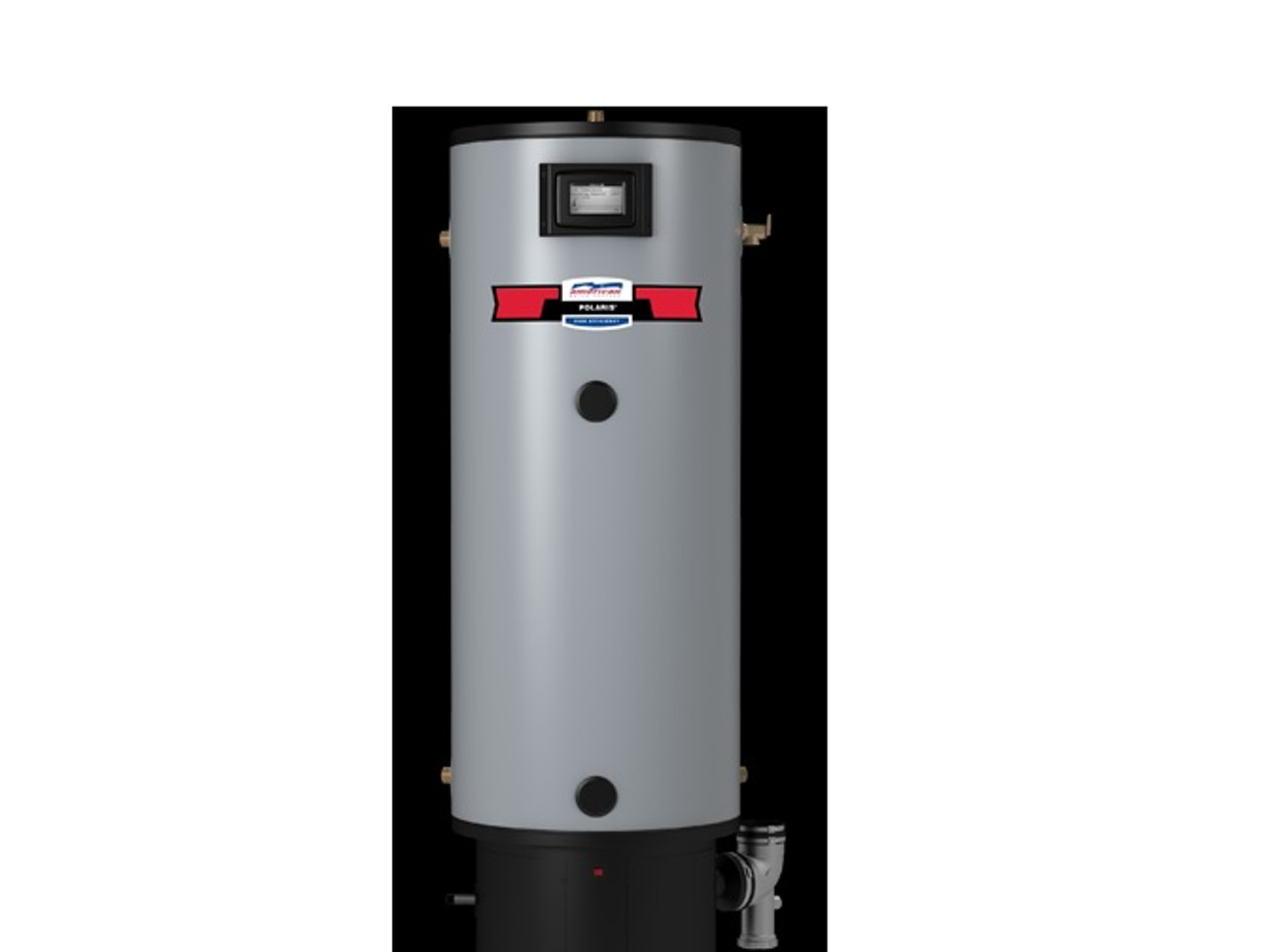 Polaris Pg10 50 130 2nv Water Heater 50 Gallon Residential Gas 130 000 Btu Commercial Water Heater Sales Eplumbing Products Inc