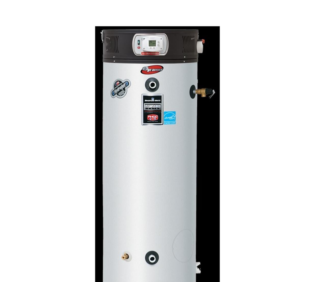 Bradford Water Heater >> Bradford White Ef100t 150 E3n Ef Series 100 Gal 150 000 Btu Natural Gas Commercial Water Heater