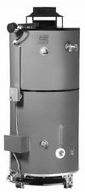 American Standard D80-199 AS Water Heater - 80 Gallon Commercial Gas 199,000 BTU - 4 Year Warranty