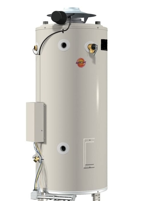 A. O. Smith  BTR-200 Water Heater - 100 Gallon Commercial Gas 199,000 BTU