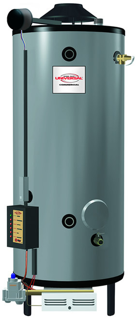 Rheem G100-270A Universal Gas ASME Commercial Water Heater, Natural Gas