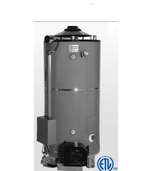 American Standard ULN 100-270 AS  Water Heater - 100 Gallon Commercial Gas 270,000 BTU - 4 Year Warranty.  ULN Models intended for CALIFORNIA and TEXAS