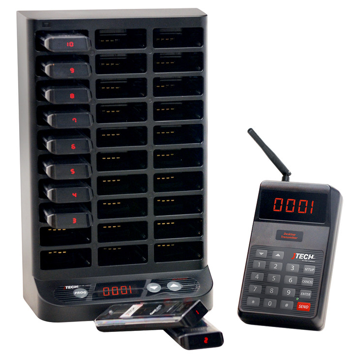 GuestCall® IQ Paging System with NEO Guest Transmitter