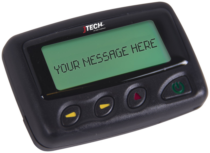 JTECH Alphanumeric Pager
