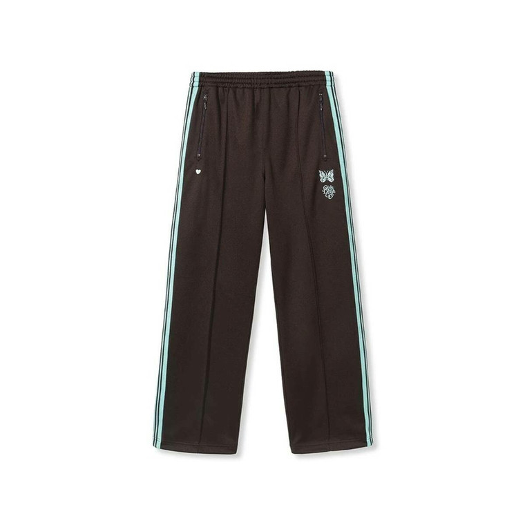 Girls Don't Cry x Needles Poly Smooth Track Pants (Brown)